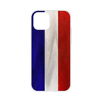 Casco para iPhone 11 Pro Max Souple Bandera Vintage Francesa
