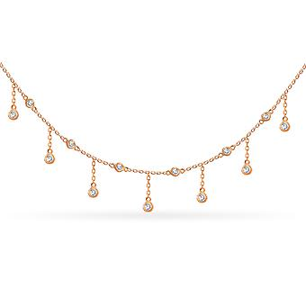 Choker Constellation Rain 18K Ouro e Diamantes