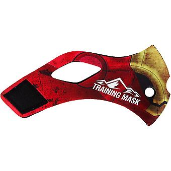 Elevation Training Mask 2.0 Red Iron - Red/Gold