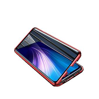 Mobile shell kaksipuolinen karkaistu lasi - Xiaomi RedMi 8 - Punainen