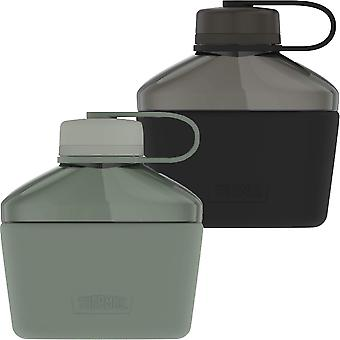 Thermos 32 oz. Guardian Collection Hard Plastic Canteen w/ Siliconen Sleeve