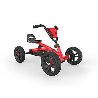 berg buzzy red pedal go kart