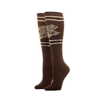 Harry Potter Hogwarts Trunk Knee High Socks