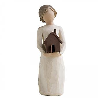 Willow Tree Mi Casa Hand Painted Figurine