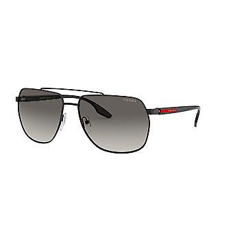 Prada Sport Linea Rossa SPS55V 1AB3M1 Black/Grey Gradient Sunglasses