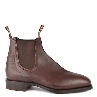 R.M. Williams Comfort Craftsman Chocolate Boots