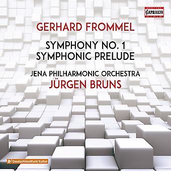 Frommel / Jena Philharmonic Orch - Symphony 1 [CD] USA import