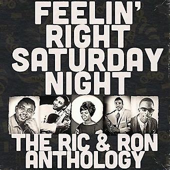 Various Artist - Feelin Right Saturday Night: The Ric & Ron / Var [CD] USA import