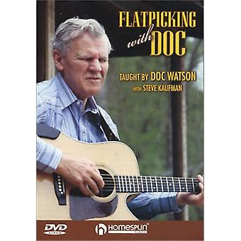 Flatpicking with Doc [DVD] USA import