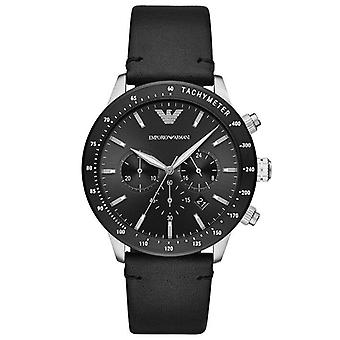 Emporio Armani AR11243 Chronograph Quartz Strap Leather Men's Watch