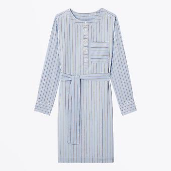 A.P.C. - Cyrielle Striped Dress - Light Blue