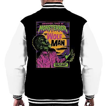 The Wolf Man Tales Of Monsterror Men's Varsity Jacket