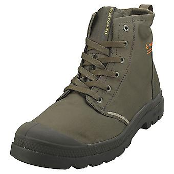 Palladium Pampa Lite+ Recycle Wp + Mens Fashion Boots in Olive