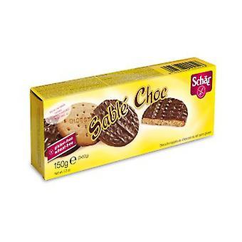 Glutenfreie Verdauungs-Choc-Kekse None