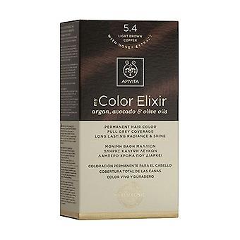بلدي لون إكسير N5.4 -- ضوء البني الكستناء 1 وحدة
