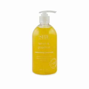 Om She Aromatherapy Lemon & Grapefruit Moisturising Body Wash 500ml