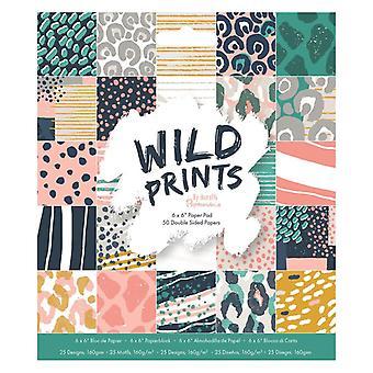 Papermania Wild tulostaa 6x6 tuuman paperityynyn