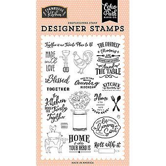 Echo Park wykonane z miłości jasne znaczki