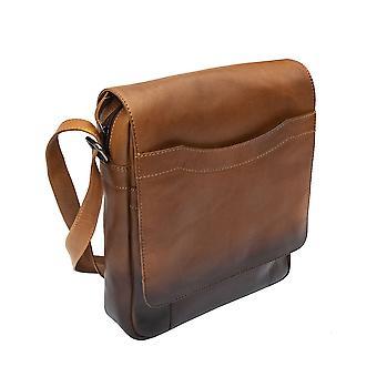 Primehide Womens Kleine Lederen Messenger Tablet Bag Schouder handtas Dames 6362