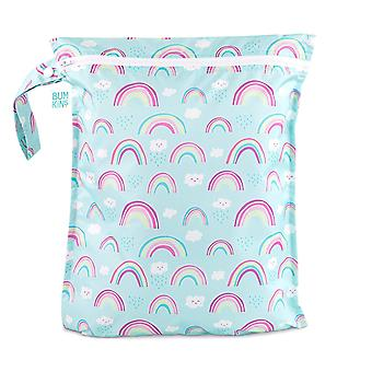 Zippered Wet Bag - Bumkin - Rainbows 12