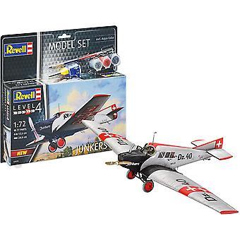 Revell 63870 Junkers F.13 Model Set Plane kit 1 72 Schaal