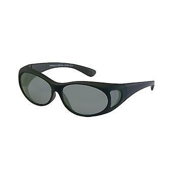 Sunglasses Unisex black with grey lens VZ0002A