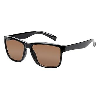 Sunglasses Unisex brown with brown lens (17-410 P)
