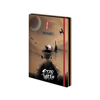 Star Wars Japanese 2021 Diary