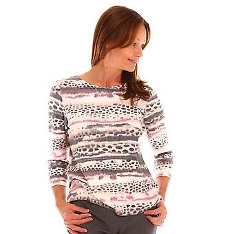 ERFO Erfo Pink And Cream Top 301200200
