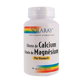 カルシウム、マグネシウム、ビタミンD 90カプセル