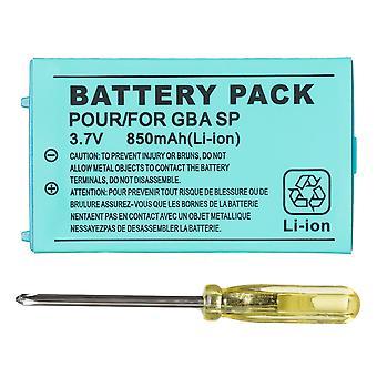 Bateria de íon de lítio recarregável de 850mah + pacote de ferramentas