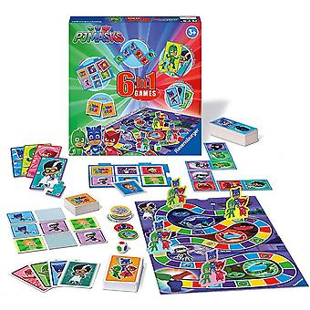 Ravensburger PJ Masks 6 in 1 Games Box