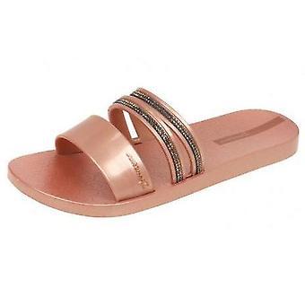Ipanema Glam Slide Crystal Mujer Flip Flops / Sandalias - Rose