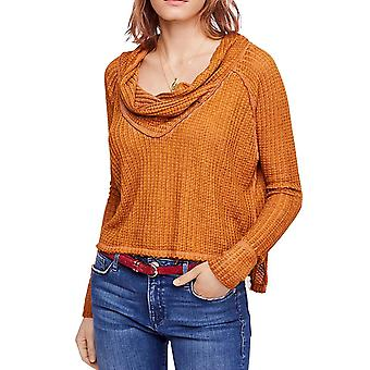 We The Free By Free People | Wildcat Cowl Neck Thermal Pullover