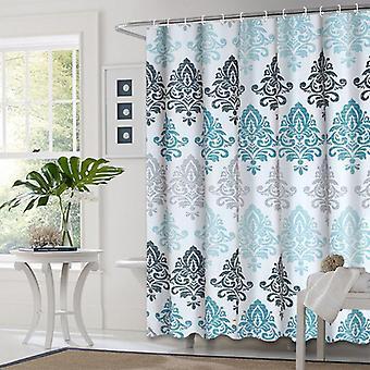 Europæisk stil bruser badeværelse fall gardiner vandtæt klud