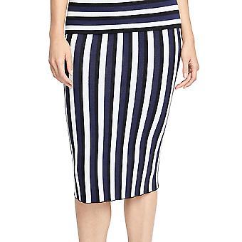 RACHEL Rachel Roy | Striped Sweater Skirt