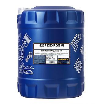 Mannol 10L Fluide de transmission automatique Dexron VI Ford Mercon LV
