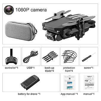 Mini Ls-neliakselinen drone hd-ilmakuvaukseen -1080p pikseli kaukosäätimellä