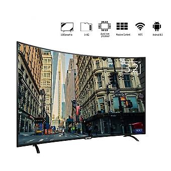 Matrix Tv 32 pulgadas Tv Android 2k Smart Television Curva plana Tv