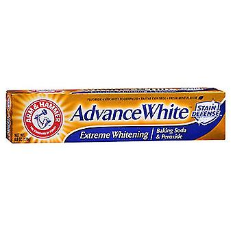 Arm & Hammer Advance White Fluoride Toothpaste, Baking Soda And Peroxide 6 oz