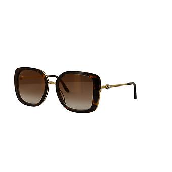 Cartier CT0246S 002 Havana/Brown Sunglasses