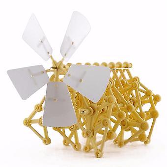 יצור פאזל מופעל ברוח עשה זאת במחלוקת ווקר Strandbeest בניית ערכות תבניות -