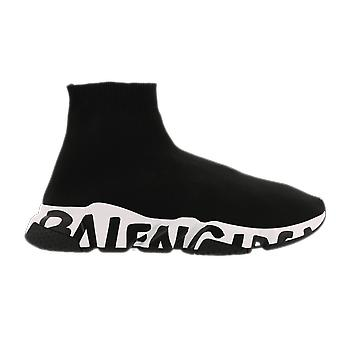 Balenciaga Fabric Sneaker Rubber Sole Black 605972W05GE1015 shoe