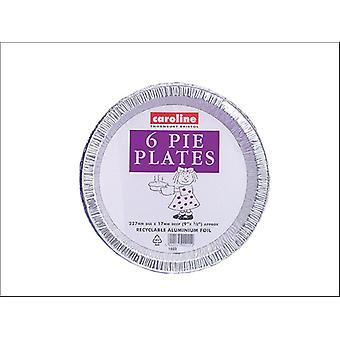 Caroline Foil Pie Plate 9in x 6 1023