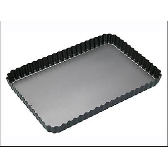 Kitchen Craft Master Class Non Stick Quiche Tin 31 x 21cm KCMCHB55