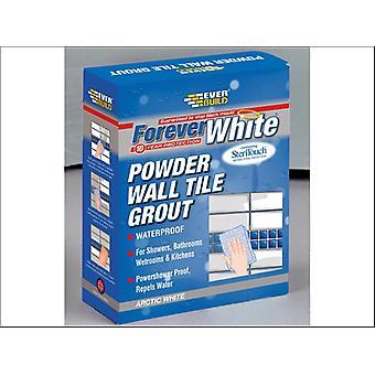 Everbuild Forever blanco pared azulejo lechada 1.2kg
