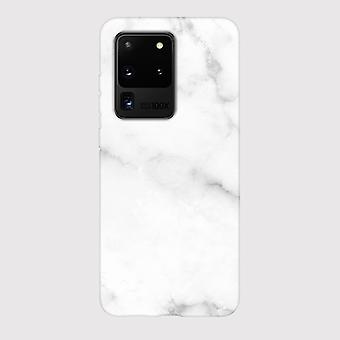 Eco Friendly Printed White Marble Samsung Galaxy S20 Ultra Case