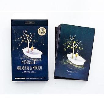 Moonlight Baron Luminous Postcard, Greeting, Message Card Birthday