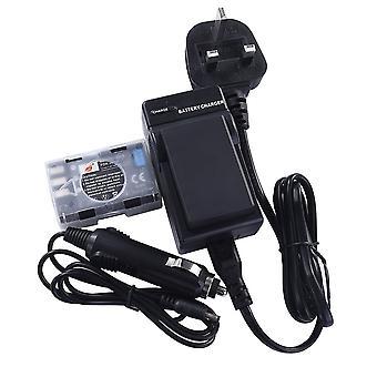 Dste® 2x en-el9 rechargeable li-ion battery + dc15u travel and car charger adapter for nikon d40 d4