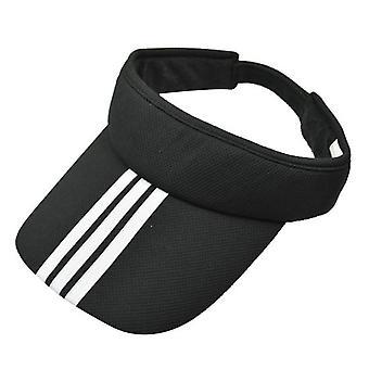 Sports Tennis Golf Sun Visor Hat Chapeaux Réglables Plain Bright Color Hommes Femmes